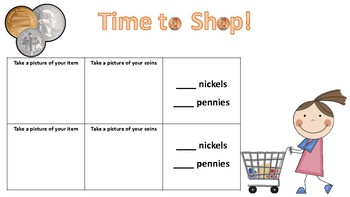 Shopping with Coins!