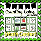 Shopping with Coins - Counting Coins within $1.00