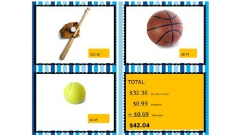 Shopping with Decimals