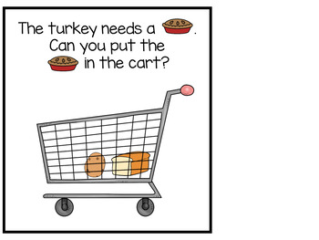 Shopping with a Turkey Adapted Books