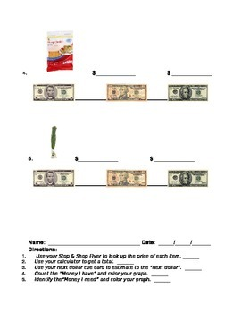 Shopping/Budgeting for A Recipe