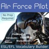 Air Force Pilot ESL / EFL Vocabulary Builder - English+Chinese