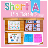 Short A Activities | Short A Worksheets