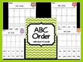 Short A ABC Order