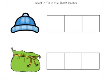 Short A Activities (Printables and Centers for K-1)