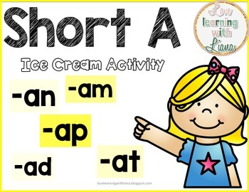 Short A Sort Activity