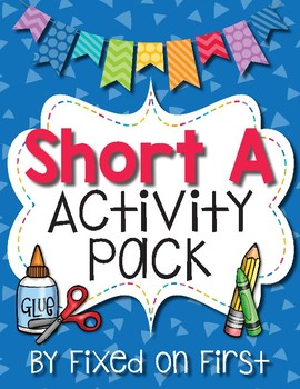 Short A Activity Pack