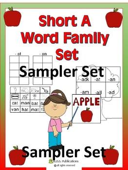 Short A Activity Sampler Set