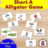 Short A Game - Aaaa! Alligator!  Game to teach the Short A Sound