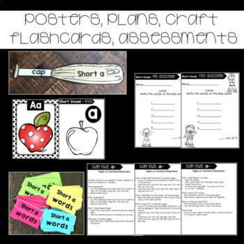 Short A  Assessments Practice Interventions and Games