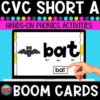 Short A BOOM Card Bundle