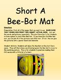 Short A Bee-Bot Mat