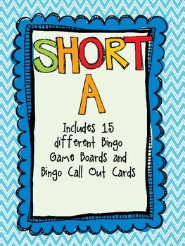 Short A Bingo