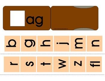 Short A - Blending Sliders Set (7 sliders)