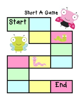 Short A Board Game