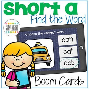 Short A Boom Cards {Freebie}