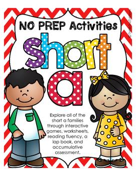 NO PREP Short A Bundle (all short a families)