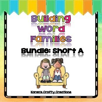 Short A Bundle: Building Word Families