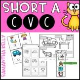 Short A - CVC Word Work