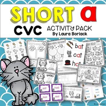 Short A CVC Activity Pack