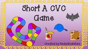 Short A CVC Board Game