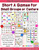 Short A (CVC) Games for Small Groups or Centers (10 games