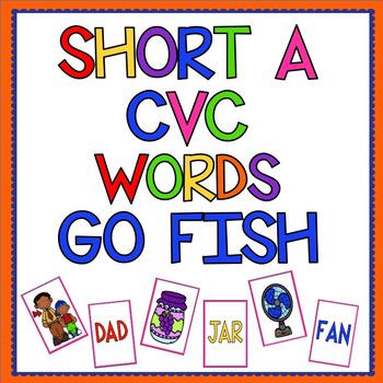 Short A CVC Go Fish