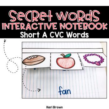 Short A CVC Interactive Word Work