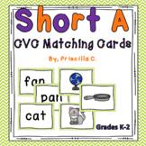 Short A CVC Matching Game