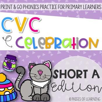Short A CVC Print and GO!
