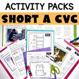 Short A CVC Printable Activity Pack