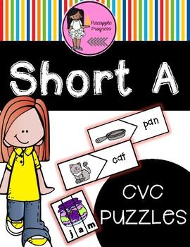 Short A CVC Puzzles