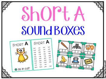 Short A CVC Sound Boxes