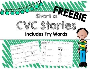 Short A CVC Stories