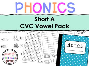 Short A CVC Vowel Pack