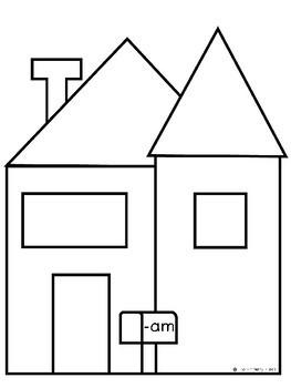 Short A/CVC Word Families Activities