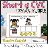 Short A CVC Word Family BUNDLE Distance Learning | Boom Cards™