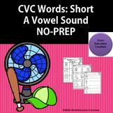 Short A CVC Words NO PREP
