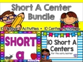 Short A Center Bundle (10 ActivBoard Centers + 10 Literacy Centers)