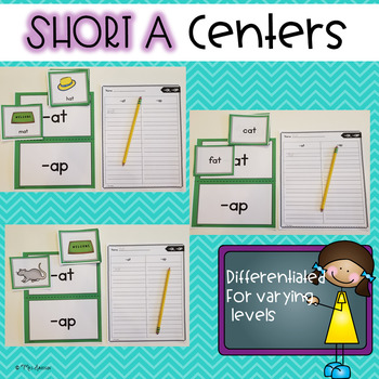 Short A Centers **Differentiated