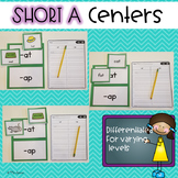 Short A Centers -Differentiated