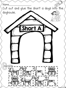 Short A - Character and Activities