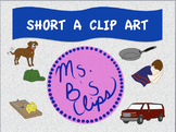 Short A Clip Art (Graphics for Commercial Use)