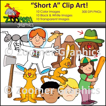 Short A Clipart