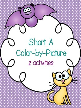 Short A Color-By-Picture