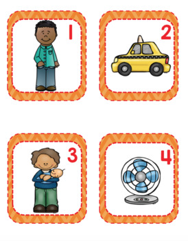 Short A CvC SCOOT Game- 24 CvC Word Cards PLUS 4 different recording sheets