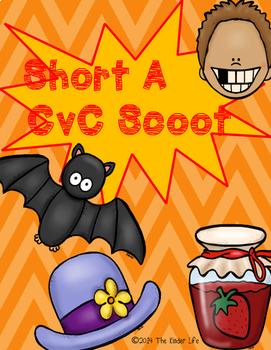Short A CvC SCOOT Game- 24 CvC Word Cards PLUS 4 different