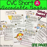 CVC Short A Decodable Books