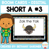 Short A Decodable Reader #3 - Boom Cards - Distance Learni
