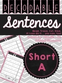 Short A Decodable Sentences {Read. Trace. Cut. Glue.} Printables